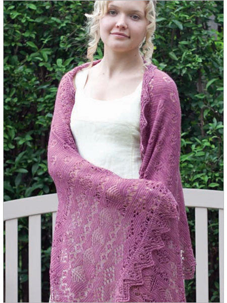 Josephine Shawl Knitting Pattern DownloadImage