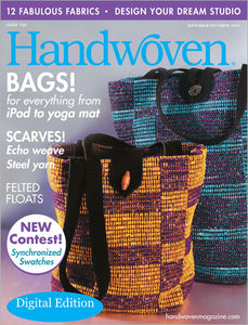 Handwoven, September/October 2007 Digital Edition  Image