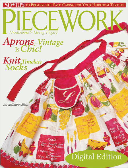 PieceWork, January/February 2006 Digital Edition  Image
