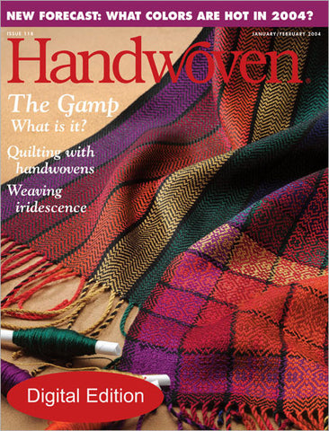 Handwoven, January/February 2004 Digital EditionImage