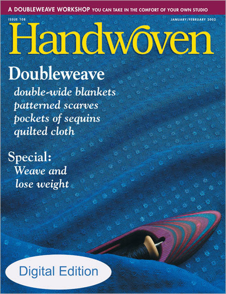 Handwoven, January/February 2002 Digital EditionImage