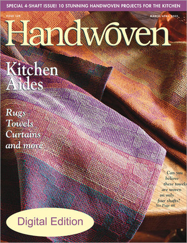 Handwoven, March/April 2002 Digital EditionImage