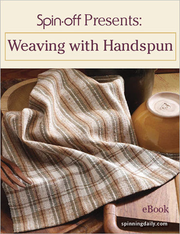 Spin-Off Presents: Weaving with Handspun eBookImage
