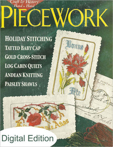 PieceWork, November/December 1998 Digital EditionImage