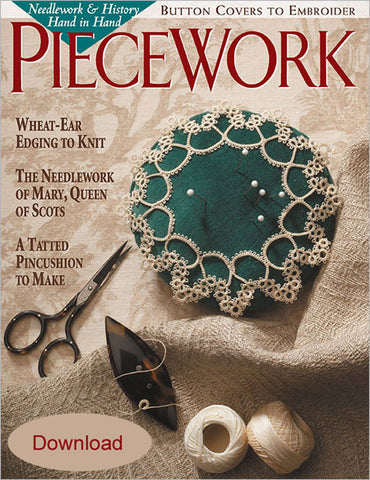 PieceWork, September/October 2001 Digital EditionImage