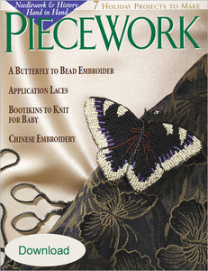 PieceWork, November/December 2001 Digital EditionImage