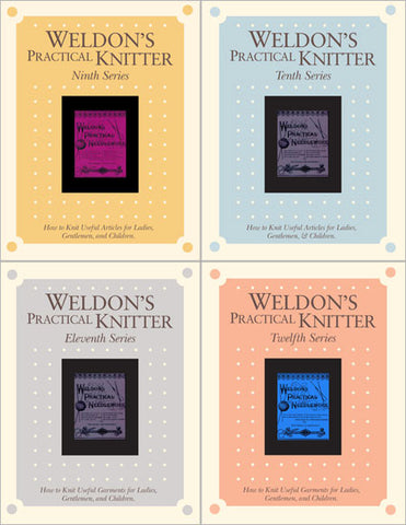 Weldon's Practical Knitter Series 9-12 Set eBookImage