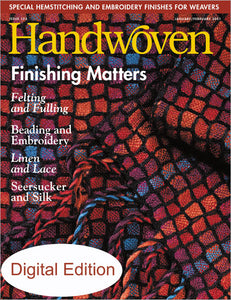 Handwoven, January/February 2001 Digital EditionImage