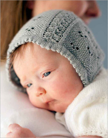Beloved Baby Bonnet Knitting Pattern DownloadImage