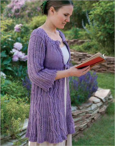 Devoted Classic Cardigan Knitting Pattern DownloadImage
