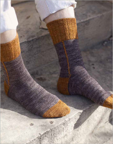 Hessian Boot Socks Knitting Pattern DownloadImage
