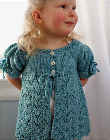 Summer Pelisse Knitting Pattern DownloadImage