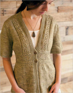 Camden Place Cardigan Knitting Pattern DownloadImage