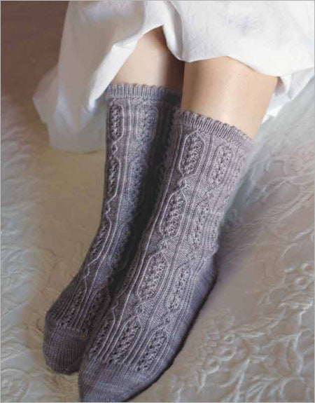 Jane Bennet Socks Knitting Pattern DownloadImage