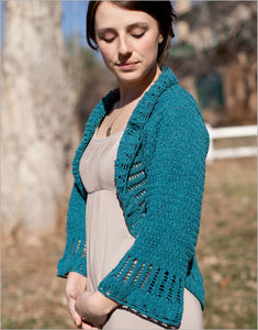Eliza's Wrap Knitting Pattern DownloadImage