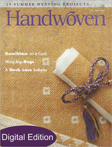 Handwoven, May/June 1999 Digital EditionImage
