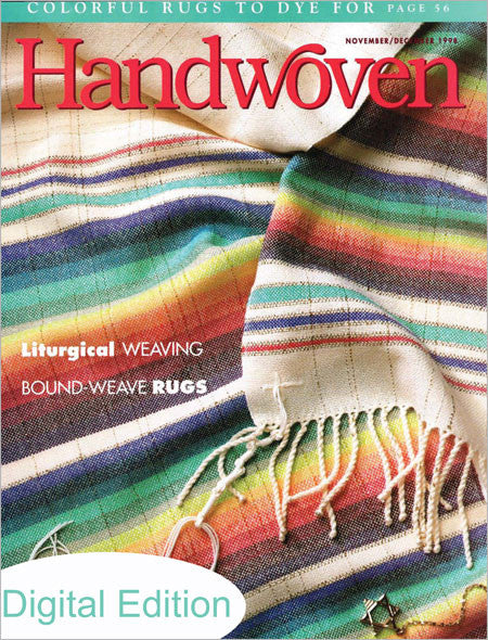 Handwoven, November/December 1998 Digital EditionImage