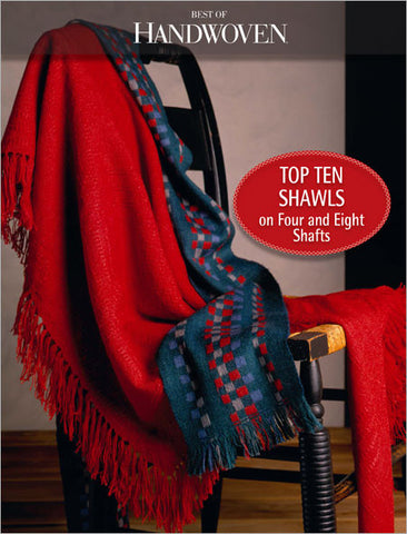 Best of Handwoven: Top Ten Shawls on Four and Eight Shafts eBookImage