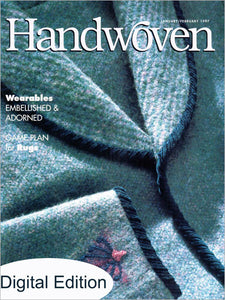 Handwoven, January/February 1997 Digital EditionImage