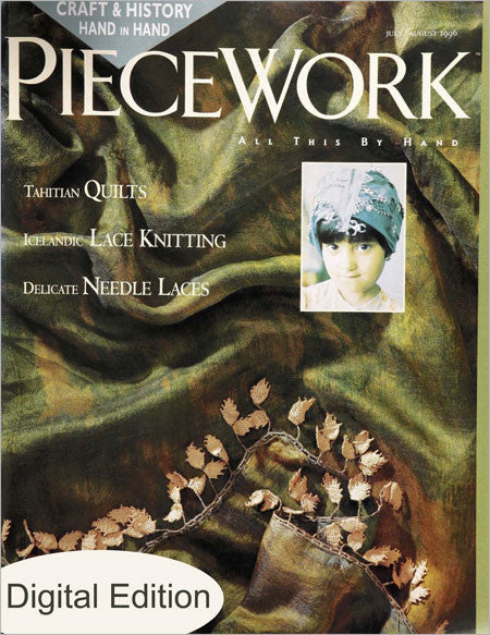 PieceWork, July/August 1996 Digital EditionImage