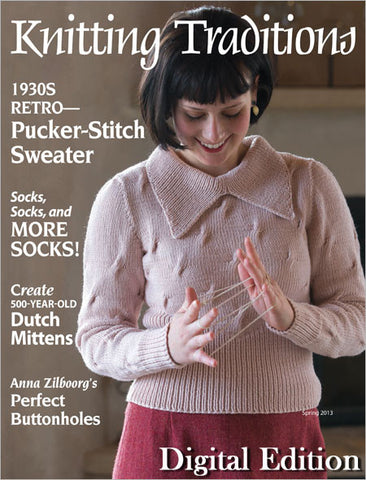 Knitting Traditions, Spring 2013 Digital EditionImage