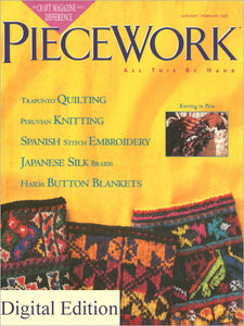 PieceWork, January/February 1995 Digital EditionImage