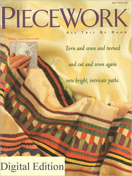 PieceWork, May/June 1995 Digital EditionImage