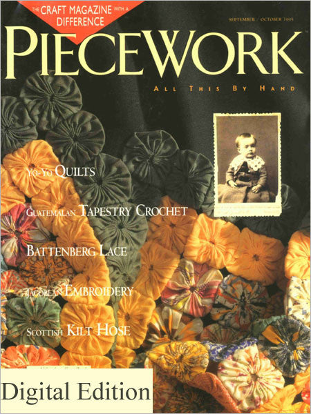 PieceWork, November/December 1995 Digital EditionImage