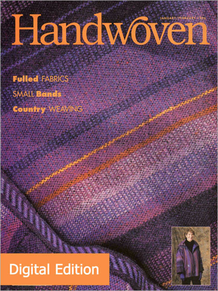 Handwoven, January/February 1996 Digital EditionImage