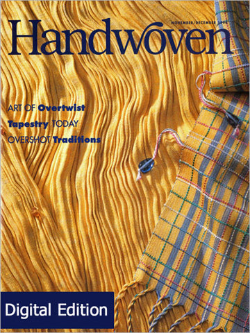Handwoven, November/December 1996 Digital EditionImage