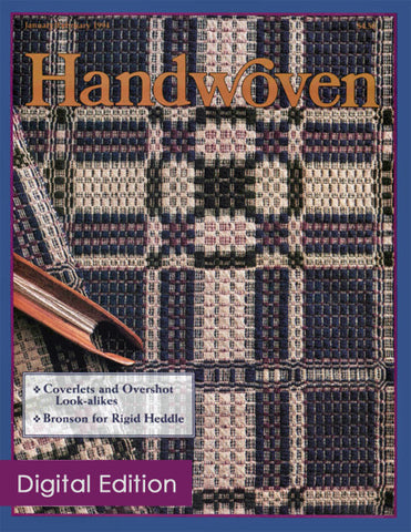 Handwoven, January/February 1994 Digital EditionImage