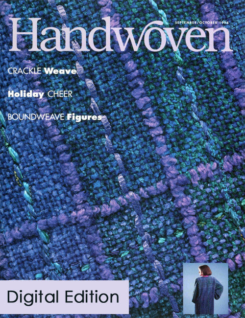 Handwoven, September/October 1994 Digital EditionImage