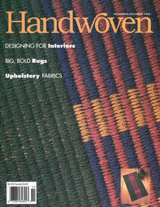 Handwoven, November/December 1994 Digital EditionImage