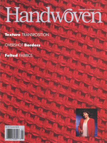 Handwoven, January/February 1995 Digital EditionImage