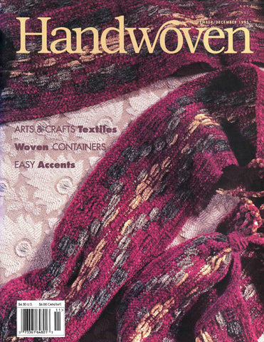 Handwoven, November/December 1995 Digital EditionImage