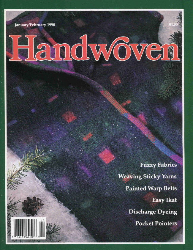 Handwoven, January/February 1990 Digital EditionImage
