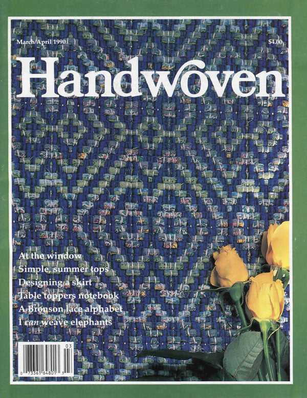 Handwoven, March/April 1990 Digital EditionImage
