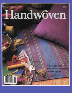 Handwoven, November/December 1990 Digital EditionImage