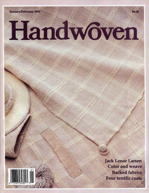 Handwoven, January/February 1991 Digital EditionImage