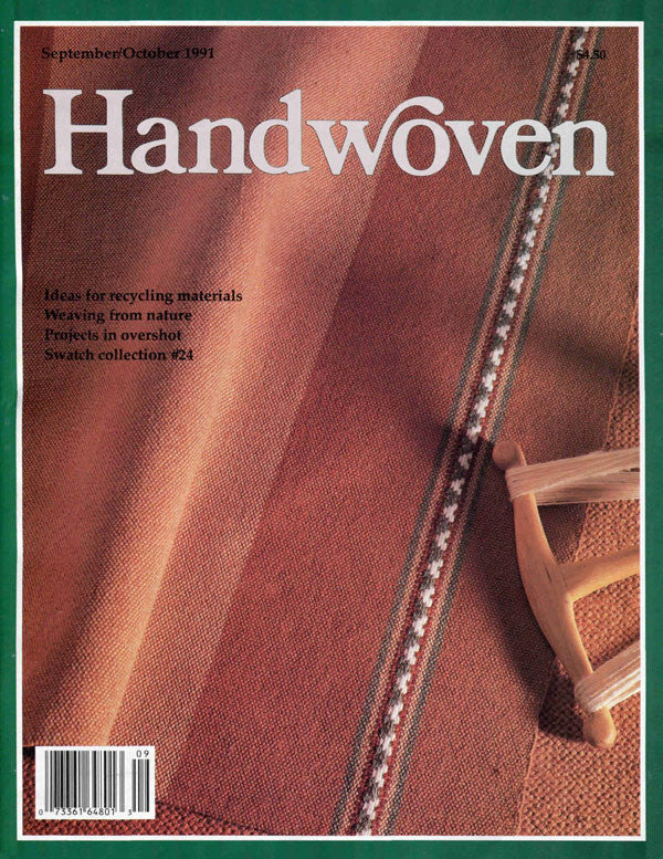 Handwoven, September/October 1991 Digital EditionImage