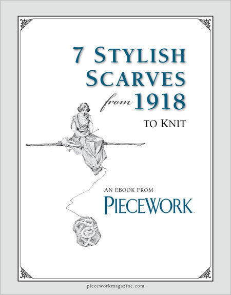 7 Stylish Scarves from 1918 to Knit eBookImage