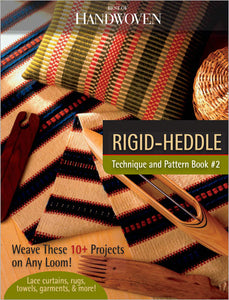 Best of Handwoven: Rigid-Heddle Technique and Pattern eBook #2Image