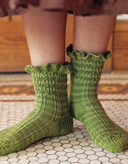 Prettyish Wilderness Socks Knitting Pattern DownloadImage
