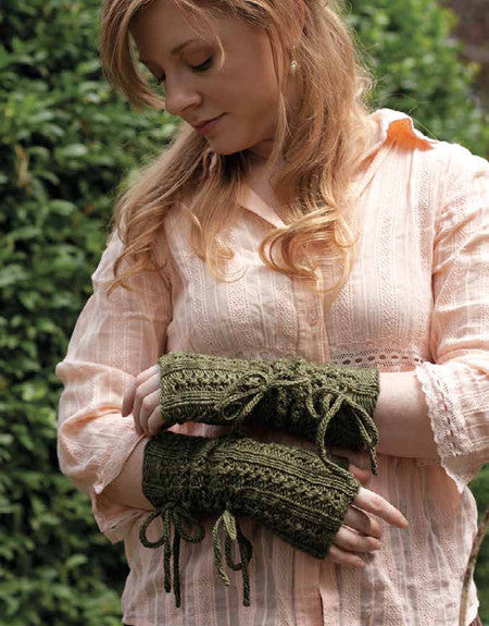 Longbourn Mitts Knitting Pattern DownloadImage