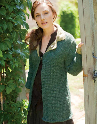 Elinor's Day Coat Knitting Pattern DownloadImage