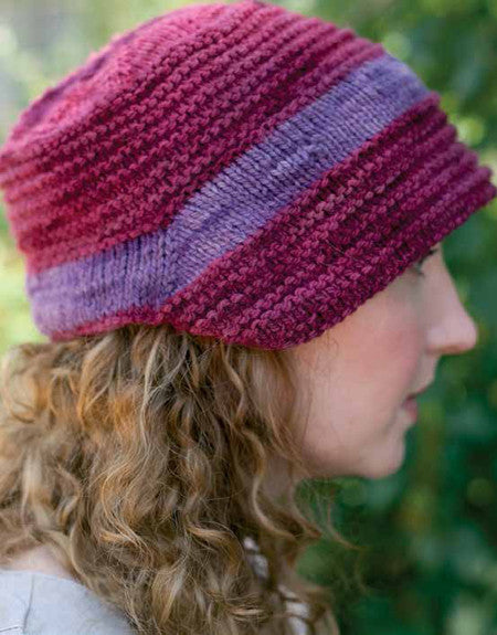 Walking to Meryton Bonnet Knitting Pattern DownloadImage