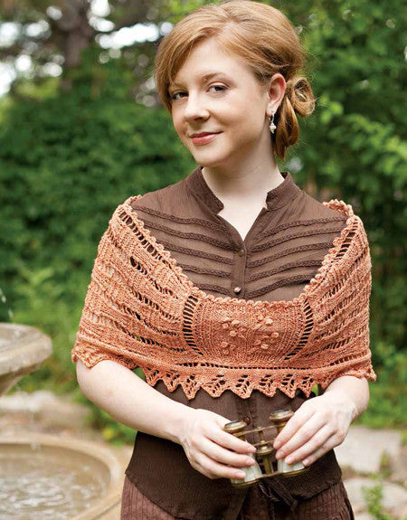 Mansfield Park Wrap: The Misses Bertram Knitting Pattern DownloadImage