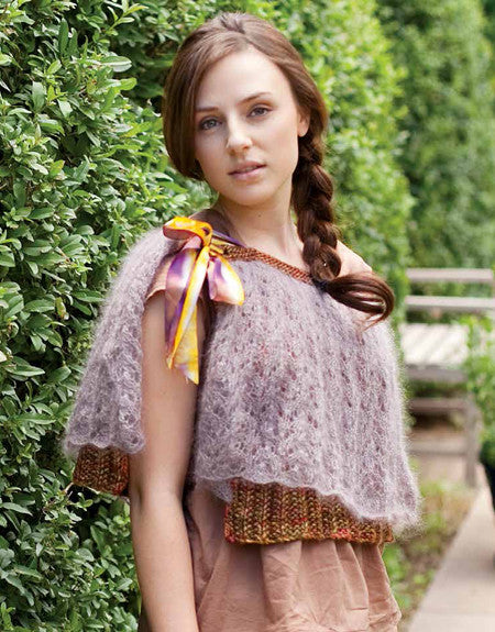 Austensible Capelet Knitting Pattern DownloadImage