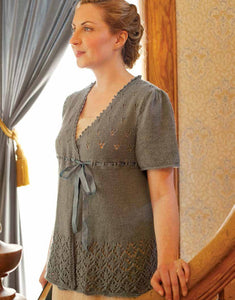 Kellynch Tunic Knitting Pattern DownloadImage