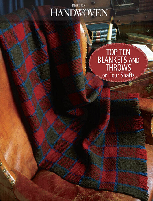 Best of Handwoven: Top Ten Blankets and Throws on Four Shafts eBookImage
